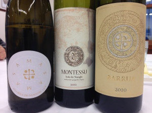 The wines at Punica