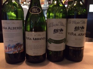 The wine of La Rioja Alta