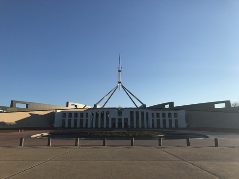 Parliament in Canberra